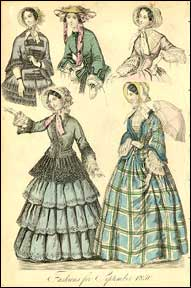 Fashion in the 1850s for women Victorian Clothing Victorian Fashion (PHOTOS ) Victoriana