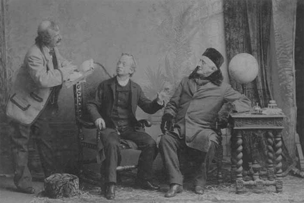 Charles Leclercq, James Lewis, and Charles Fisher, 1885