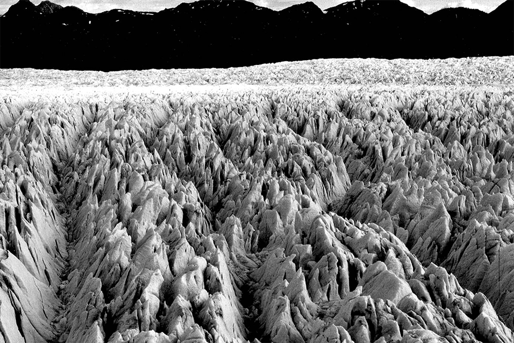 Columbia Glacier, Sérac Close-up, October 8, 1975