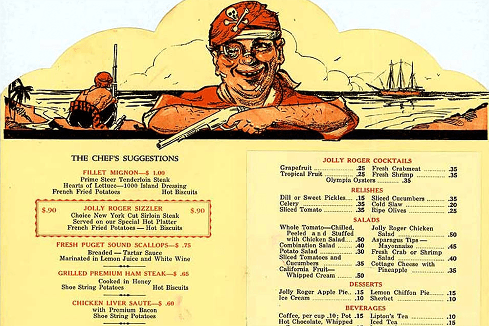 Jolly Roger Menu