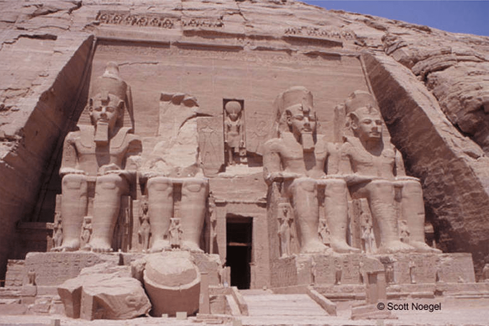 Colossi of Temple of Ramses II