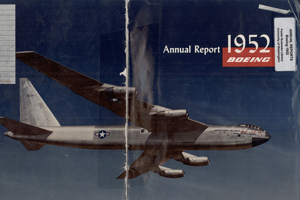 Report to stockholders / Boeing Airplane Company 1952