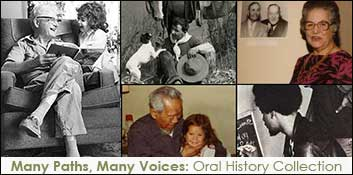Many Paths Many Voices Oral History Collection