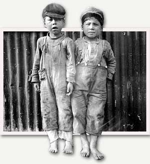 Two Eskimo children, Naknek, Alaska, 1917