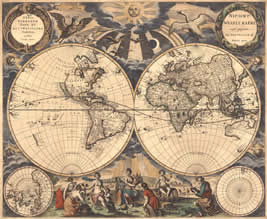 World And Regional Maps Collection 16th To 19th Centuries